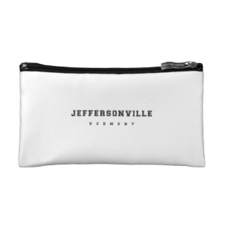 Jeffersonville Vermont Cosmetic Bag