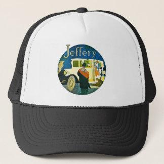 Jeffery Automobiles Advertisement Trucker Hat