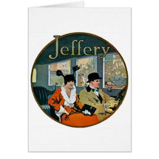 Jeffery Automobiles Advertisement - Vintage Greeting Card