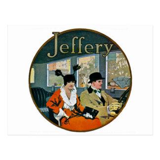Jeffery Automobiles Advertisement - Vintage Postcard