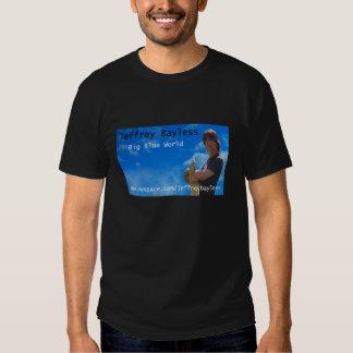 Jeffrey Bayless - Big Blue World/Myspace T-Shirt