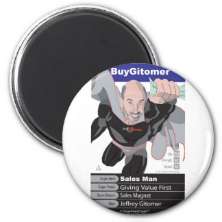 Jeffrey Gitomer 2 Inch Round Magnet
