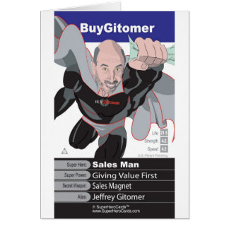 Jeffrey Gitomer Card