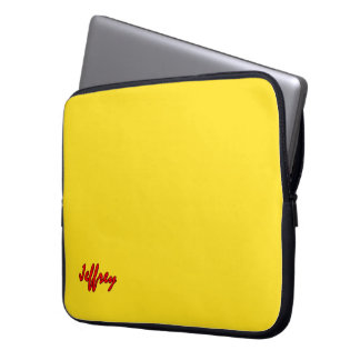 Jeffrey Intense Yellow Laptop Bag