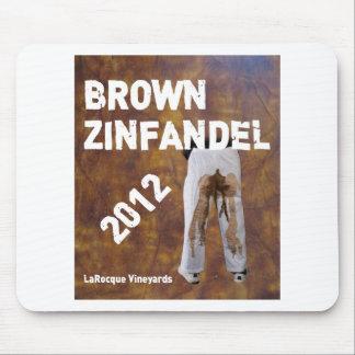 Jeffrey LaRocque Vineyards Brown Zinfandel Mouse Pad
