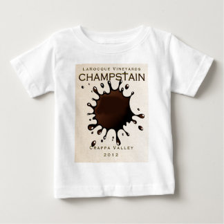 Jeffrey LaRocque Vineyards Champstain Baby T-Shirt