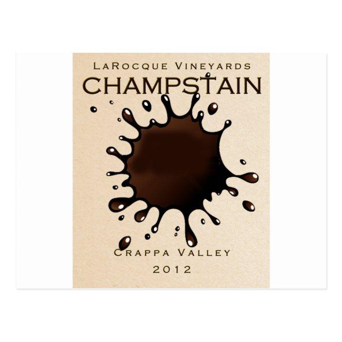 Jeffrey LaRocque Vineyards Champstain Postcard