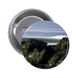 Jeffrey s Bay surfing wave South Africa Pinback Buttons