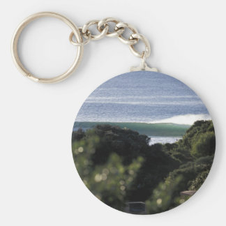 Jeffrey s Bay surfing wave South Africa Key Chains
