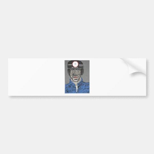 Jeffrey The Miner Bumper Sticker