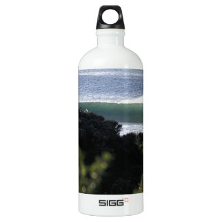 Jeffrey's Bay surfing wave South Africa Aluminum Water Bottle