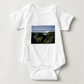 Jeffrey's Bay surfing wave South Africa Baby Bodysuit