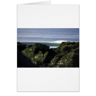 Jeffrey's Bay surfing wave South Africa Card