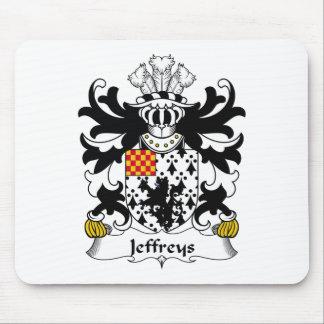 Jeffreys Family Crest Mouse Pad