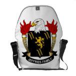 Jeffries Family Crest Courier Bag