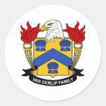 Jeffries Family Crest Sticker