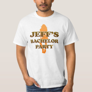 Jeff's Bachelor Party T-Shirt