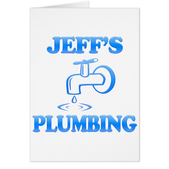 Jeff's Plumbing Card