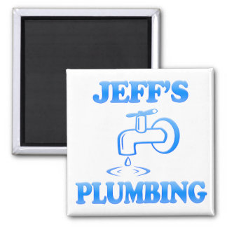 Jeff's Plumbing Refrigerator Magnets