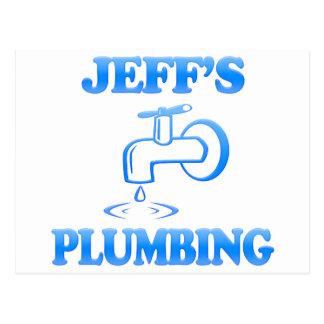 Jeff's Plumbing Postcard