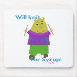 Jeffy Knitting Mousepads