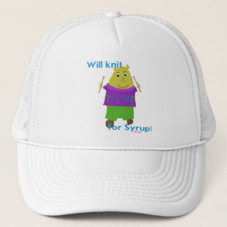 Jeffy Knitting! Trucker Hat