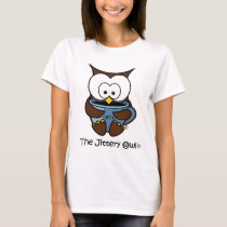 Jeffy The Jittery Owl Blue Mug T-Shirt
