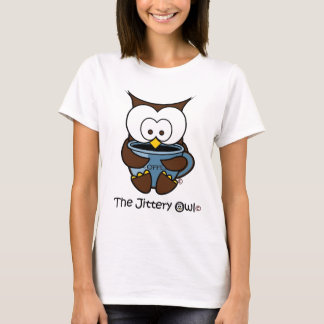Jeffy The Jittery Owl Blue Mug T-Shirt