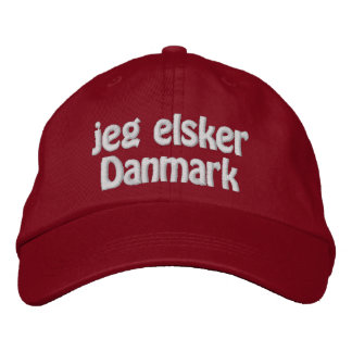 Jeg Elsker Danmark Cap