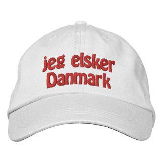 Jeg Elsker Danmark Gorra De Beisbol