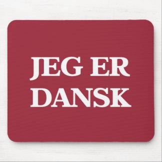 jeg er dansk mouse pad