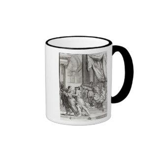 Jehoiada, High Priest of Jerusalem Proclaiming Ringer Coffee Mug