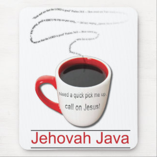Jehovah Java Mouse Pad