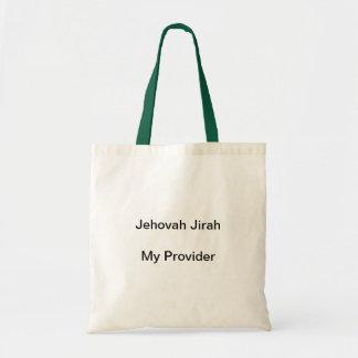 Jehovah Jirah My Provider Tote Bags