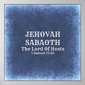 Jehovah Sabaoth Poster