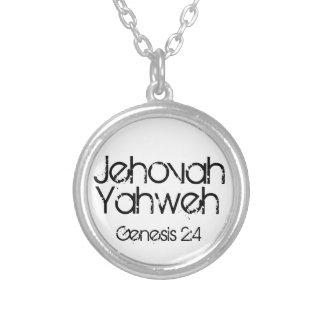 Jehovah/Yahweh bible verse Genesis 2:4 Custom Jewelry