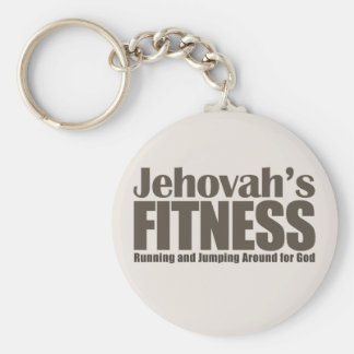 Jehovah's Fitness Keychain