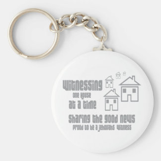 Jehovah's Witness Witnessing Key Chain