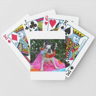 Jején hawaiano cartas de juego
