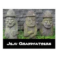 Jeju Grandfathers Postcard