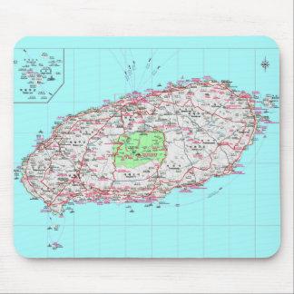 Jeju hace el cojín de ratón de la Corea del Sur Alfombrillas De Ratón