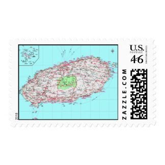 Jeju hace sellos de la Corea del Sur