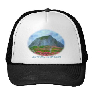 Jeju Island Korea (제주도) Trucker Hats