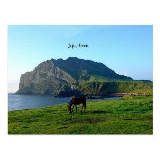 Jeju, Korea Postcard