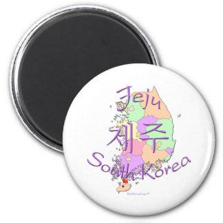Jeju South Korea Magnet