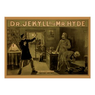 Jekyll & Hyde - Theater Poster #8 print