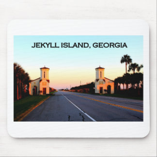 Jekyll Island Georgia Causeway Mouse Pads