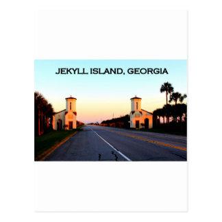 Jekyll Island Georgia Causeway Postcards