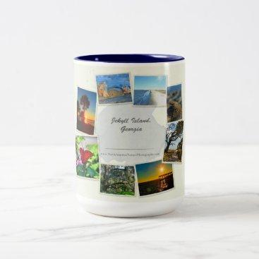 USA Themed Jekyll Island, Georgia Collage Mug