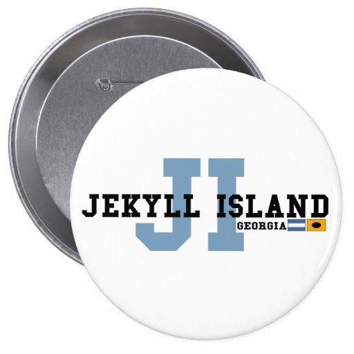 Jekyll Island. Pinback Button